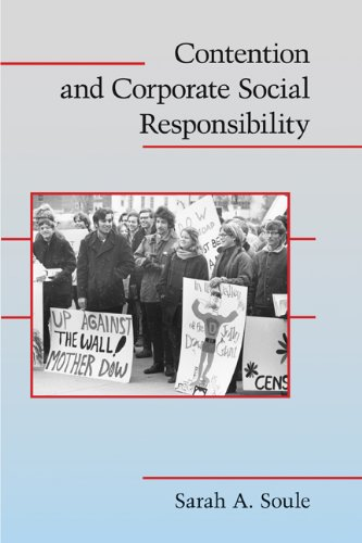 Contention and Corporate Social Responsibility   2009 9780521727068 Front Cover