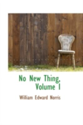 No New Thing:   2008 edition cover