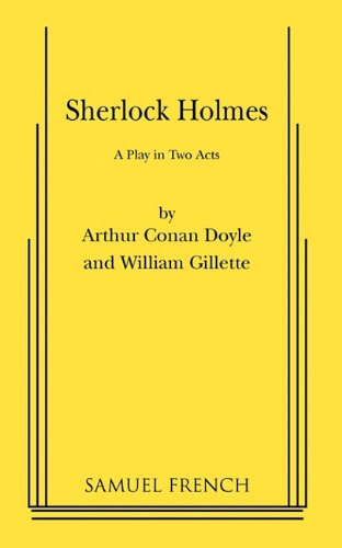 Sherlock Holmes A Comedy in Two Acts  1976 edition cover
