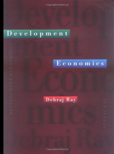 Development Economics   1998 edition cover