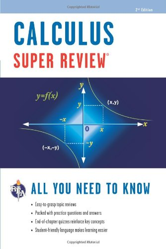 Super Review Calculus:   2012 edition cover
