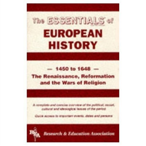 European History, 1450-1648  Revised  9780878917068 Front Cover