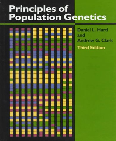 Principles of Population Genetics  3rd 1997 edition cover