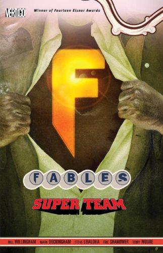 Fables Vol. 16: Super Team   2002 9781401233068 Front Cover