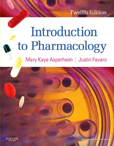Introduction to Pharmacology  12th 2012 edition cover