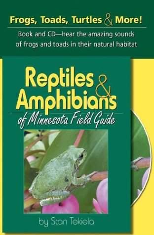 Reptiles and Amphibians of Minnesota  N/A 9781591930068 Front Cover