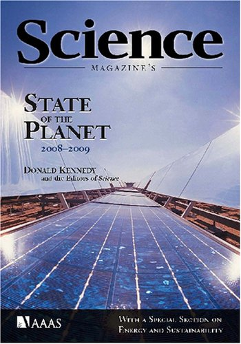 State of the Planet 2008-2009 With a Special Section on Energy and Sustainability 2nd edition cover