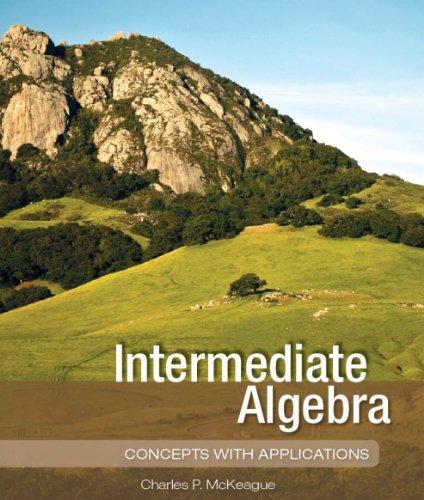 Intermediate Algebra 1st edition cover