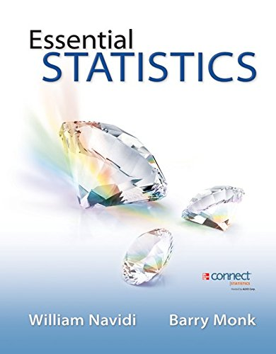 Essential Statistics + Data Files + Formula Card + Learnsmart and Connect:   2013 9780078028069 Front Cover
