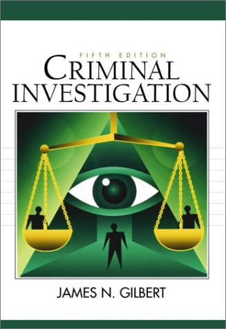 Criminal Investigation  5th 2001 9780130852069 Front Cover
