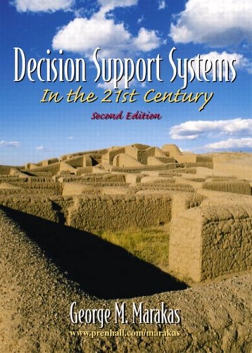 Decision Support Systems  2nd 2003 (Revised) edition cover