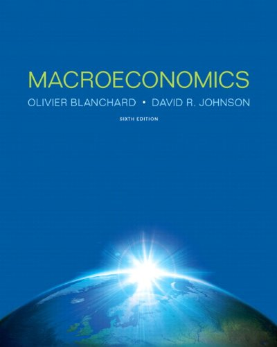 Macroeconomics  6th 2013 9780133103069 Front Cover