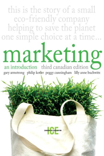 MARKETING IN CLASS ED.>CANADIA N/A 9780135084069 Front Cover