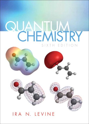 Quantum Chemistry  6th 2009 edition cover