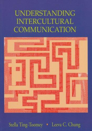 Understanding Intercultural Communication   2005 edition cover