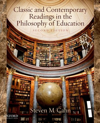 Classic and Contemporary Readings in the Philosophy of Education  2nd 2012 edition cover
