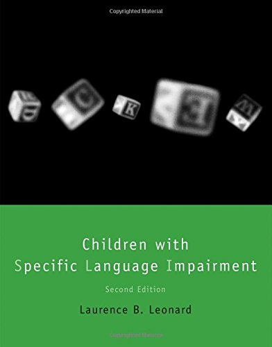 Children with Specific Language Impairment  2nd 2014 edition cover
