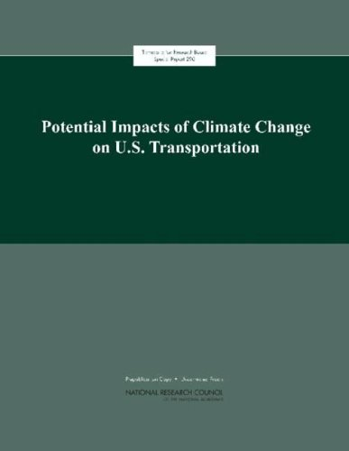 Potential Impacts Of Climate Change On U.S. Transportation: Special Report 290  2008 edition cover