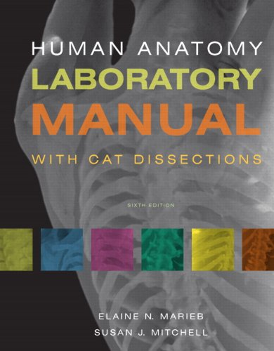 Human Anatomy Laboratory Manual with Cat Dissections  6th 2011 edition cover