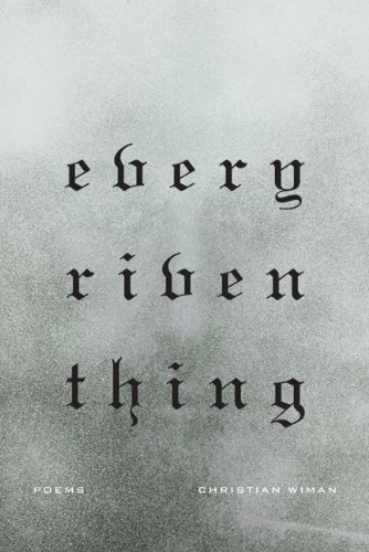 Every Riven Thing Poems N/A edition cover