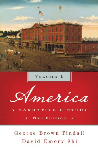 America A Narrative History 8th edition cover