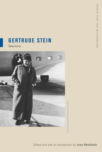 Gertrude Stein Selections  2008 edition cover