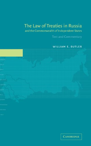 Law of Treaties in Russia and the Commonwealth of Independent States Text and Commentary  2002 9780521816069 Front Cover
