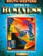 Intro to Business  4th 2000 9780538692069 Front Cover