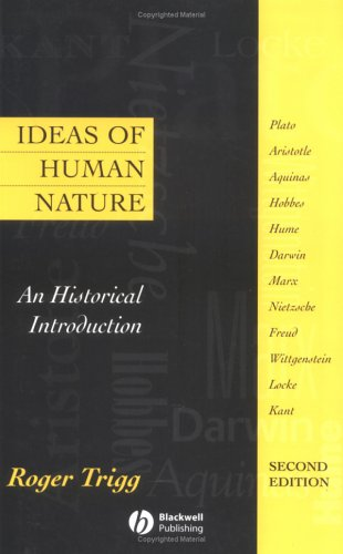Ideas of Human Nature An Historical Introduction 2nd 1999 (Revised) edition cover