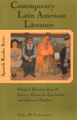 Contemporary Latin American Literature Original Selections from the Literary Giants for Intermediate and Advanced Students  2002 edition cover