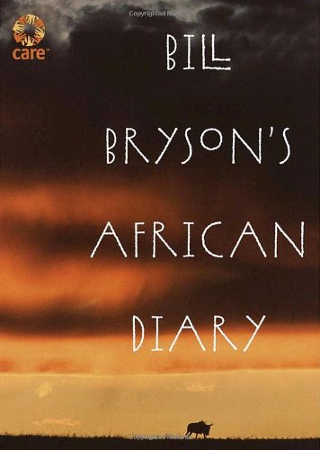Bill Bryson's African Diary   2002 edition cover