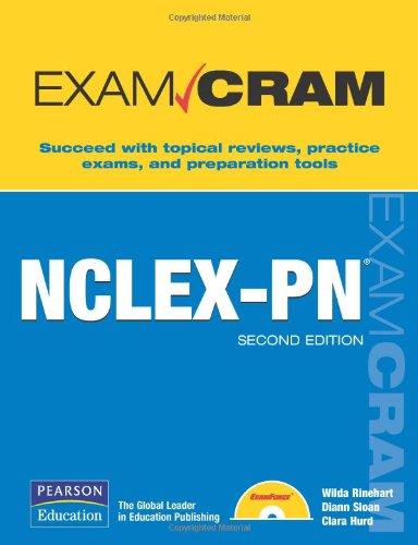 NCLEX-PN Exam Cram  2nd 2008 edition cover