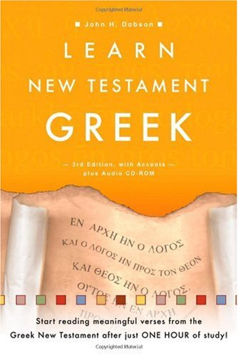 Learn New Testament Greek  3rd 2005 edition cover