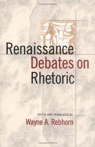 Renaissance Debates on Rhetoric   2000 edition cover