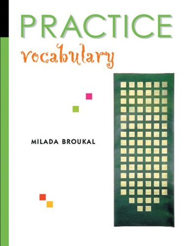 Practice Vocabulary  2002 edition cover