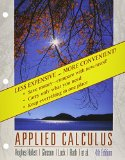 Applied Calculus 4th Edition Binder Ready Version with Binder Ready Survey Flyer and WileyPLUS Set  4th 2011 9781118026069 Front Cover