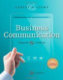 Business Communication + Meguffey.com Printed Access Card: Process and Product  2014 9781285094069 Front Cover