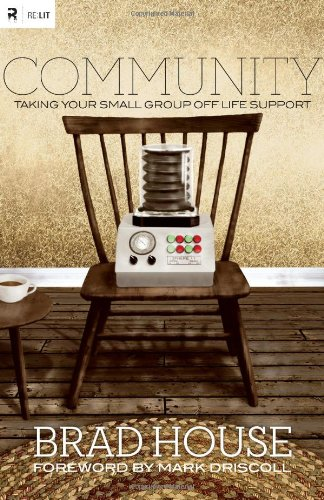 Community Taking Your Small Group off Life Support  2011 edition cover