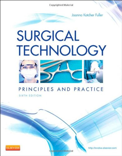Surgical Technology Principles and Practice 6th 2013 edition cover