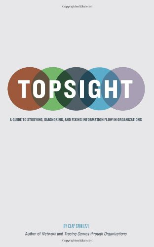 Topsight A Guide to Studying, Diagnosing, and Fixing Information Flow in Organizations N/A edition cover