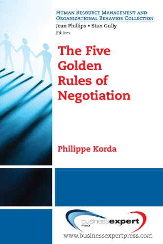 Five Golden Rules of Negotiation  N/A edition cover