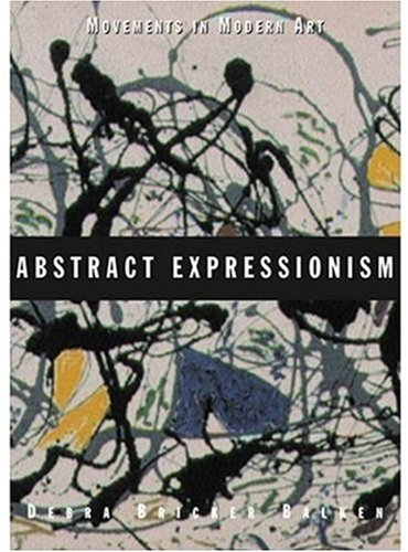 Abstract Expressionism   2003 edition cover
