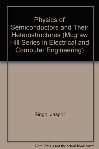 Physics of Semiconductors and Their Heterostructures   1993 edition cover