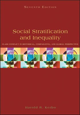 Social Stratification and Inequality Class Conflict in Historical, Comparative, and Global Perspective 7th 2009 edition cover