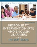Response to Intervention (RTI) and English Learners Using the SIOP Model 2nd 2015 edition cover