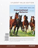 Organizational Behavior:   2016 9780134182070 Front Cover