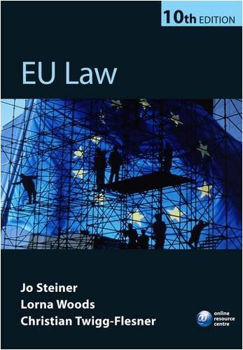 EU Law  10th 2009 9780199219070 Front Cover