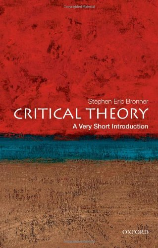 Critical Theory   2011 edition cover