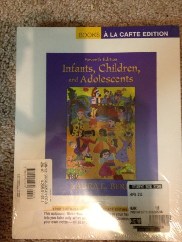 Infants, Children, and Adolescents  7th 2012 edition cover