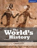 The World's History: Prehistory to 1500  2014 edition cover